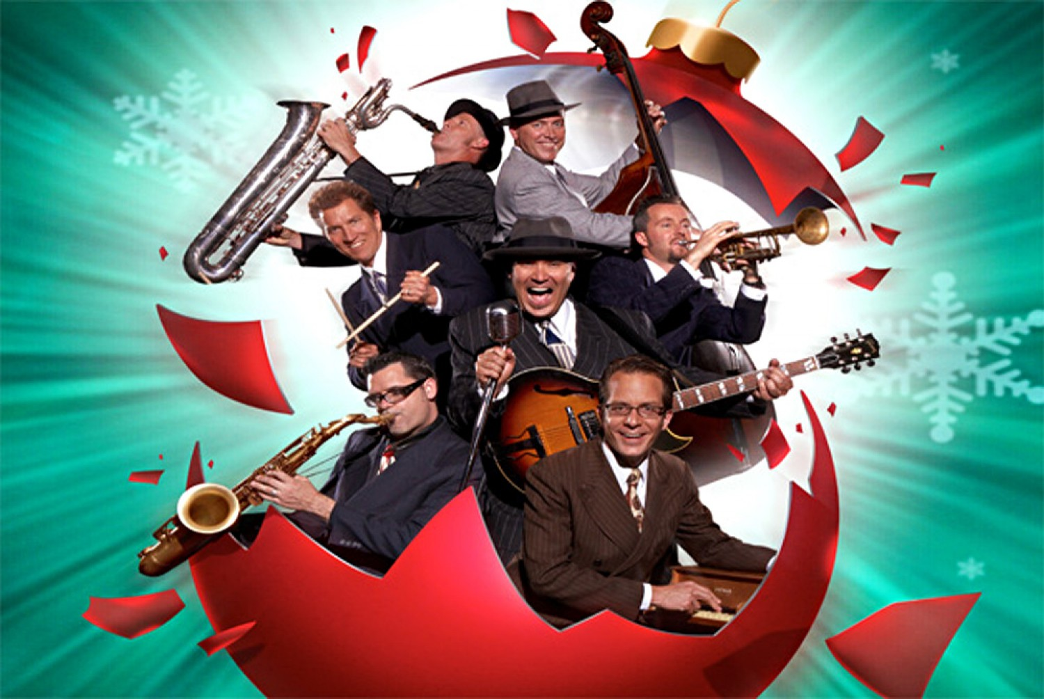 Big Bad Voodoo Daddy Christmas December 12 Ekucenter Com