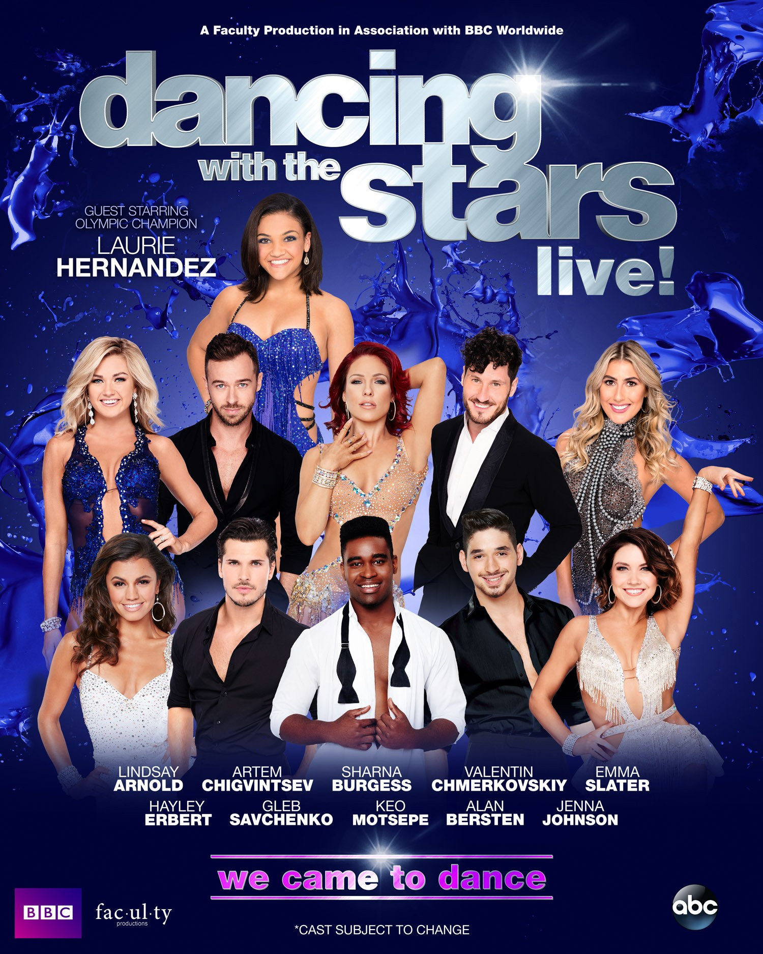 DWTS Artwork - Celebrity Version
