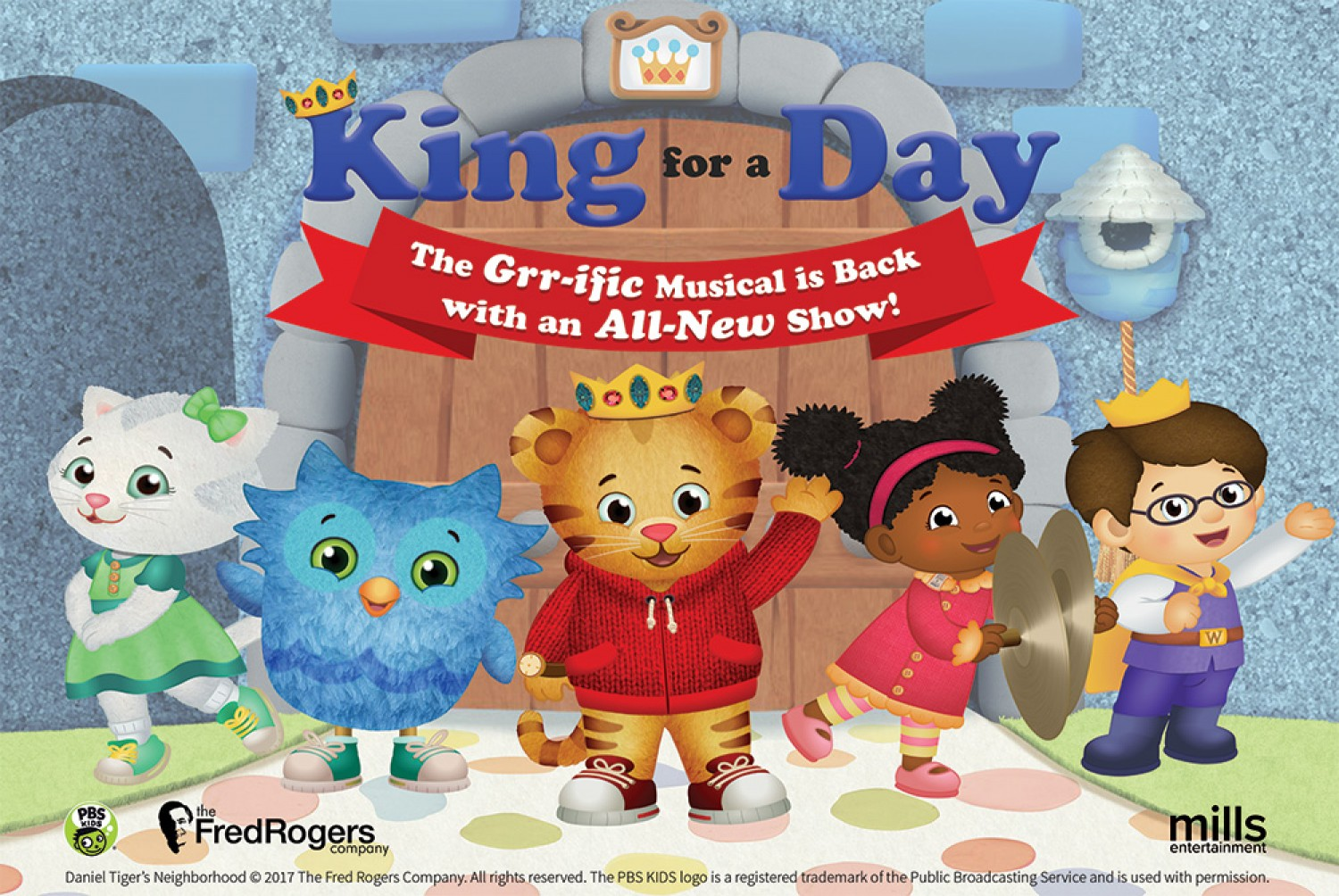 Daniel Tiger\'s Neighborhood Live - King For A Day | November 18 ...