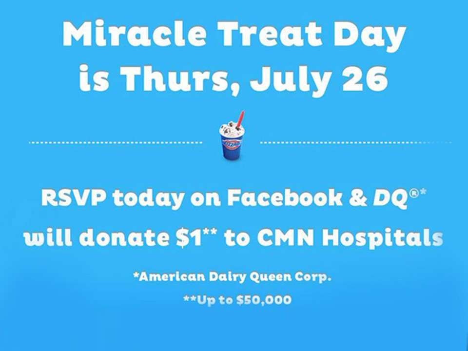 News - Miracle Treat Day