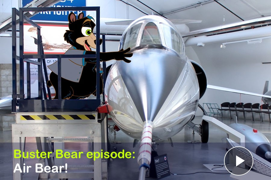 WATCH: Air Bear! Buster Bear keep the Cold War from Getting Hot