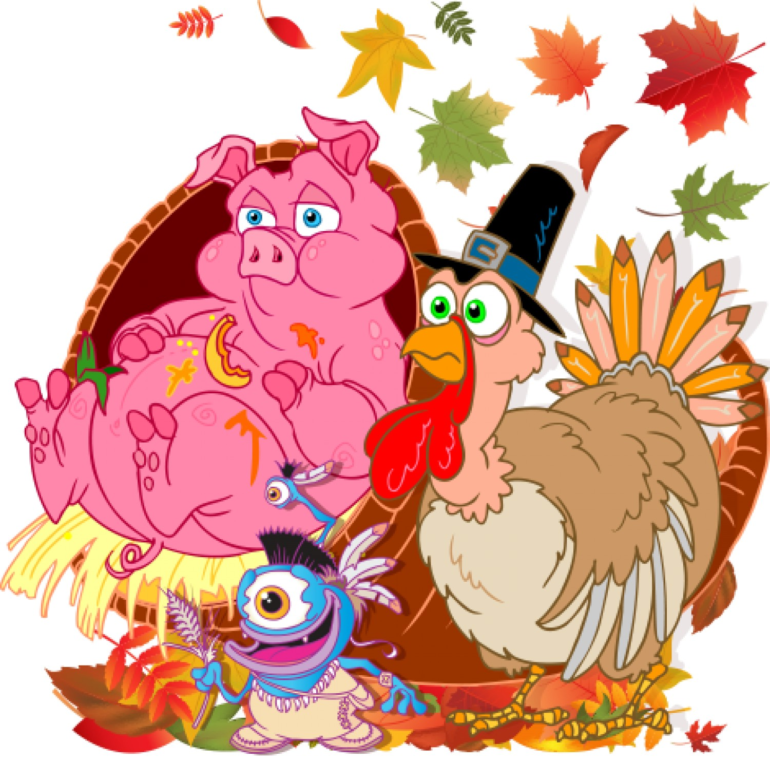 About animated thanksgiving - Thanksgiving moving wallpaper ...