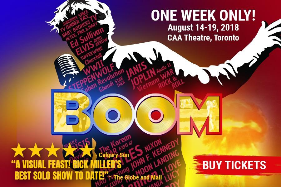 BOOM - Buy tickets