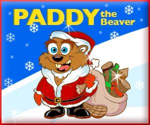 Visit paddythebeaver.com