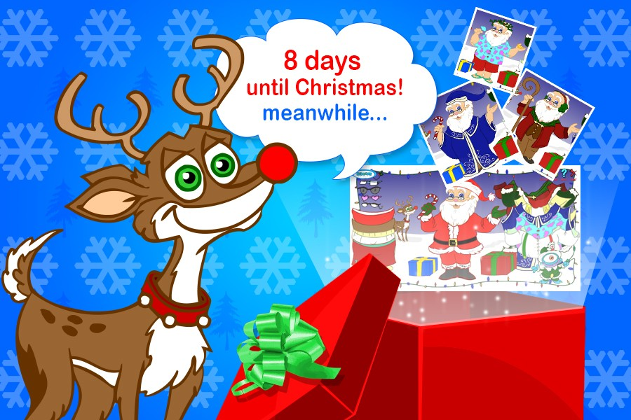 8 Days till Christmas! Have you dressed-up Santa today?|News Item ...