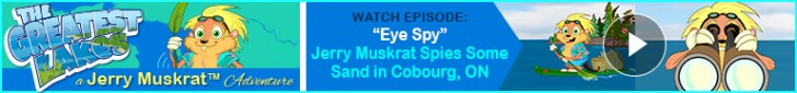 "Watch: ""Eye Spy"" Jerry Muskrat's The Greatest Lakes Adventures"