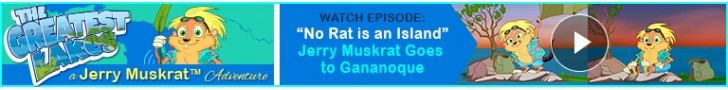 "Watch: ""No Rat is an Island"" Jerry Muskrat's The Greatest Lakes Adventures"