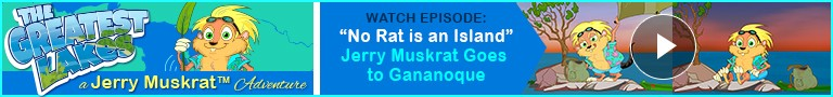 """Watch: """"No Rat is an Island"""" Jerry Muskrat's The Greatest Lakes Adventures"""