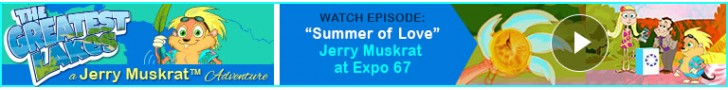 "Watch: ""Summer of Love"" Jerry Muskrat's The Greatest Lakes Adventures"