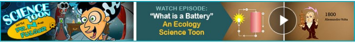 "Watch: ""What is a Battery"" - An Ecology Science Toon"