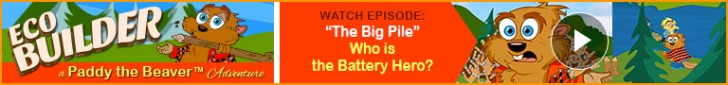 """Watch: """"The Big Pile"""" - """"Eco Builder"""" a Paddy the Beaver Adventure"""