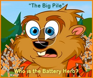 "Watch: ""The Big Pile"" - ""Eco Builder"" a Paddy the Beaver Adventure"