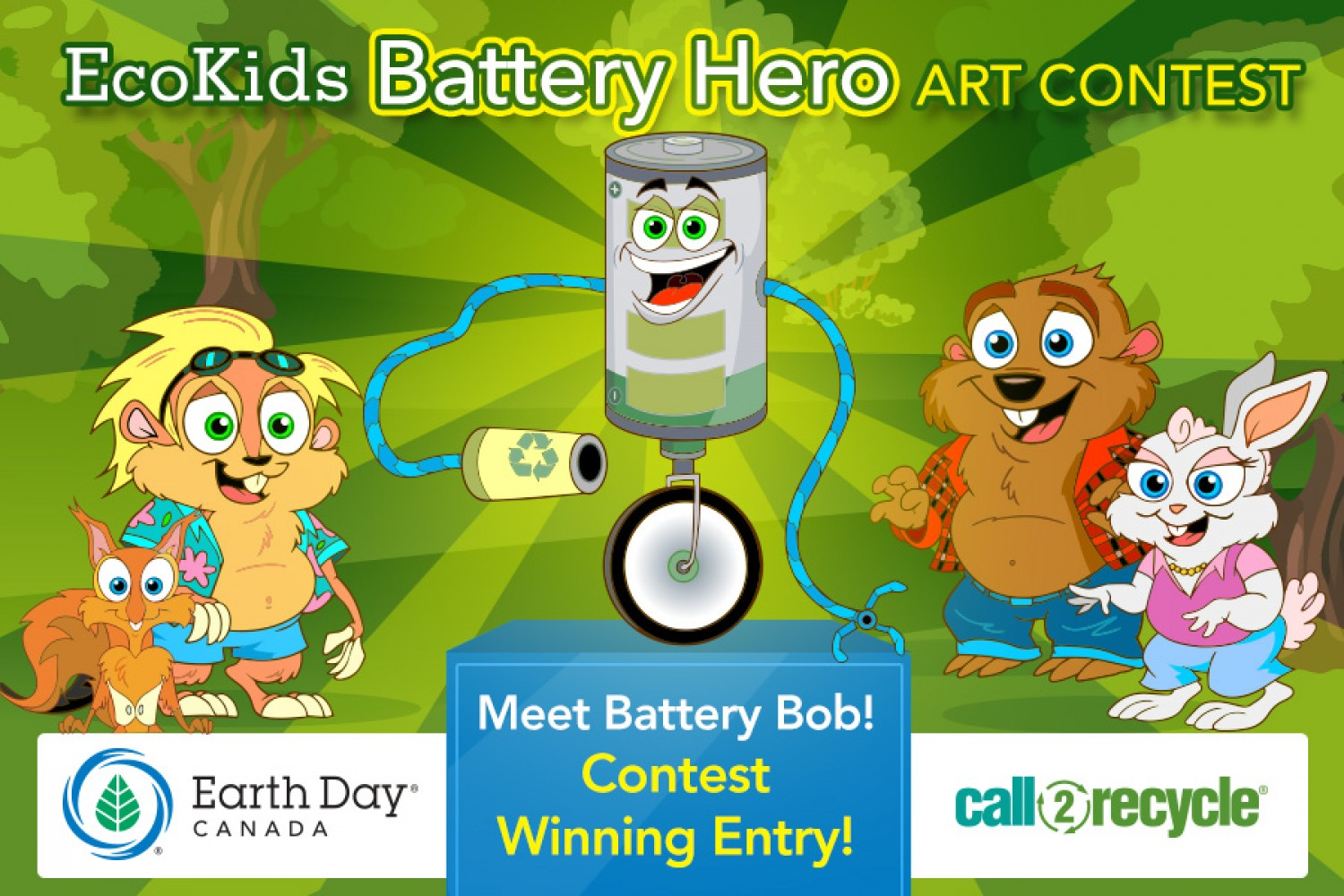 The Battery Hero Webisodes   Paddy The Beaver