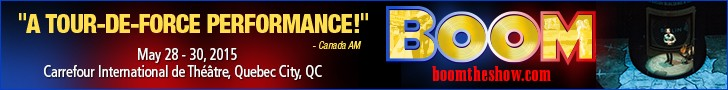 BOOM Carrefour Quebec May 28-30, 2015