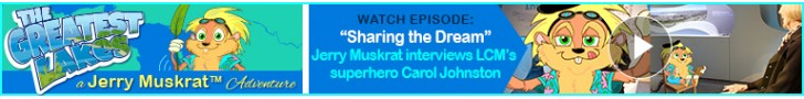 "Watch: ""Sharing the Dream"" Jerry Muskrat interviews LCM's superhero Carol Johnston"