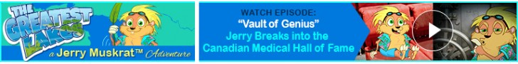 "Watch: ""Vault of Genius"" Jerry Breaks into the Canadian Medical Hall of Fame"