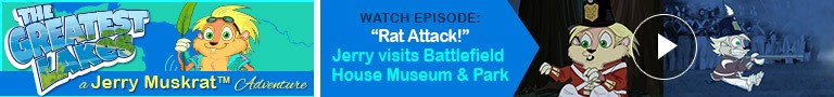 "Watch: ""Rat Attack!"" Jerry visits Battlefield House Museum & Park"