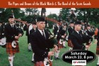 Columbia Artists Presents THE BAND OF THE SCOTS GUARDS AND THE PIPES, DRUMS, HIGHLAND DANCERS OF THE BLACK WATCH 3RD BATTALION THE ROYAL REGIMENTS OF SCOTLAND