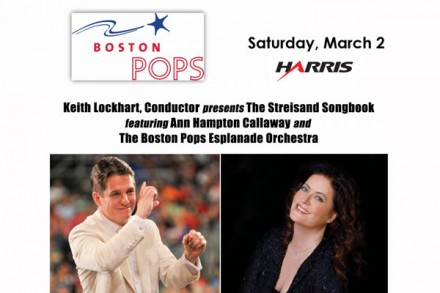 KEITH LOCKHART, CONDUCTOR presents THE STREISAND SONGBOOK featuring ANN HAMPTON CALLAWAY and the BOSTON POPS ESPLANADE ORCHESTRA