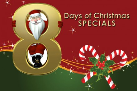 8 DAYS OF CHRISTMAS