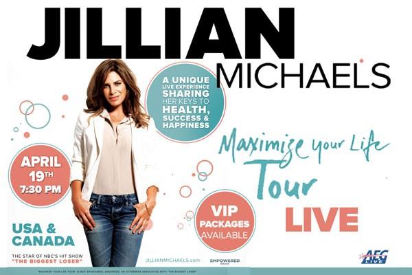 Jillian Michaels, Coming to the King Center!