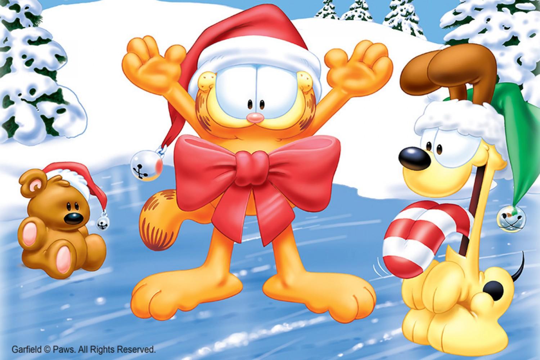 Garfield Christmas.A Garfield Christmas Event Item Maxwell C King Center For