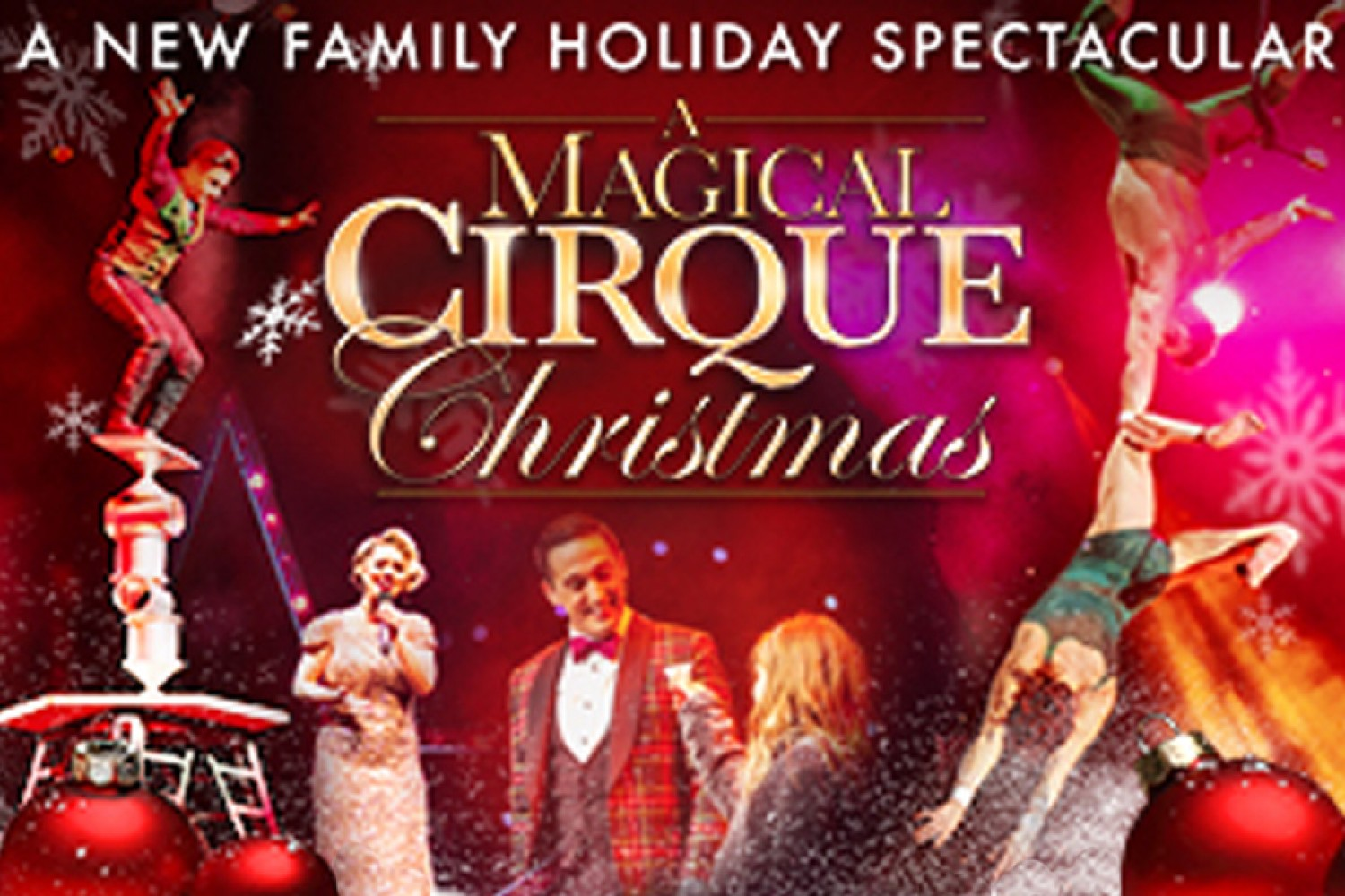 Cirque Christmas.A Magical Cirque Christmas Event Item Maxwell C King