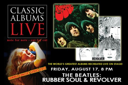 CLASSIC ALBUMS LIVE – THE BEATLES: RUBBER SOUL/REVOLVER