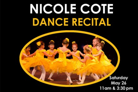 "NICOLE COTE SCHOOL OF DANCE presents ""BELIEVE"""