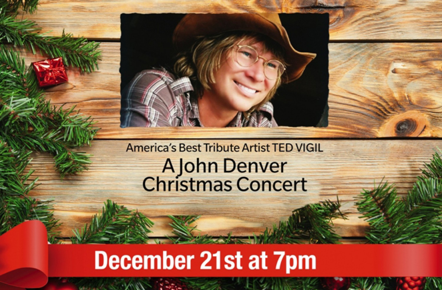 A JOHN DENVER CHRISTMAS Starring Ted Vigil|Show | The Lyric Theatre