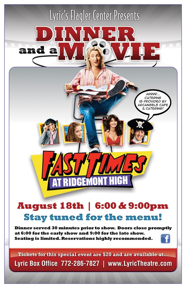 Dinner and a movie - Fast Times - Eblast.jpg