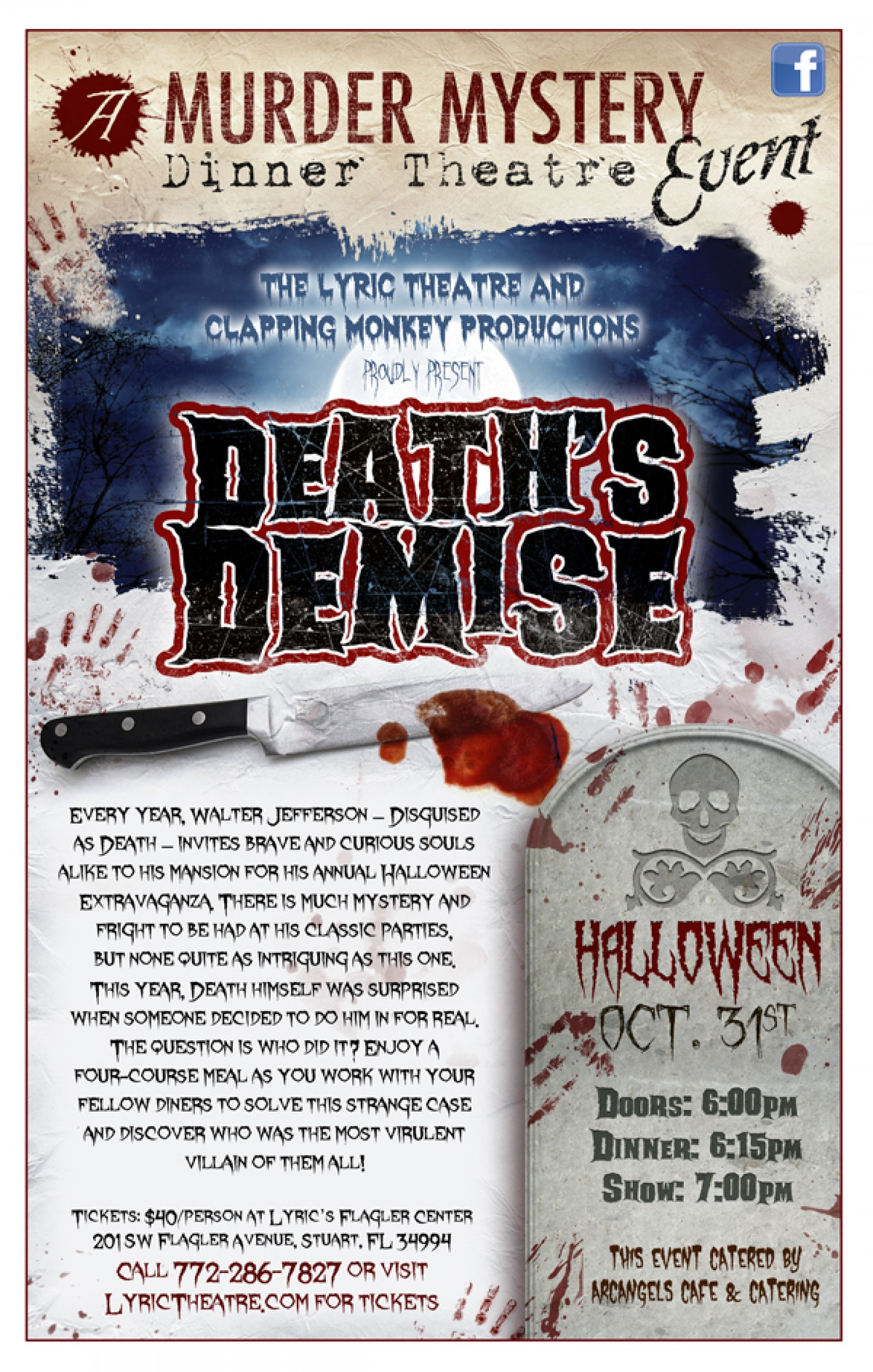 Deaths demise a halloween murder mystery gala eventshow the every year walter jefferson disguised as death invites brave and curious souls alike to his mansion for his annual halloween extravaganza stopboris Images