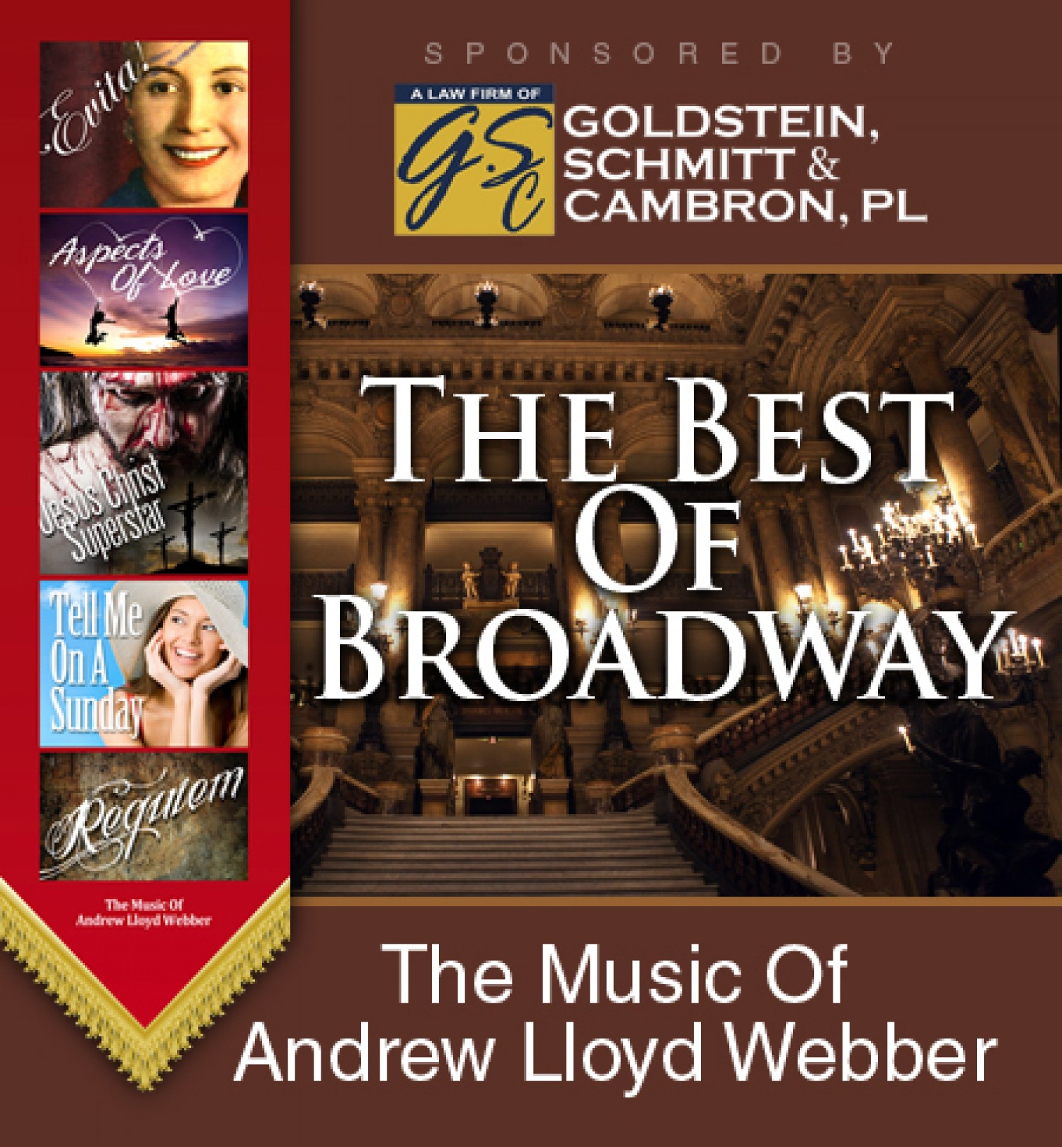 The Best Of Broadway The Music Of Andrew Lloyd Webber border=