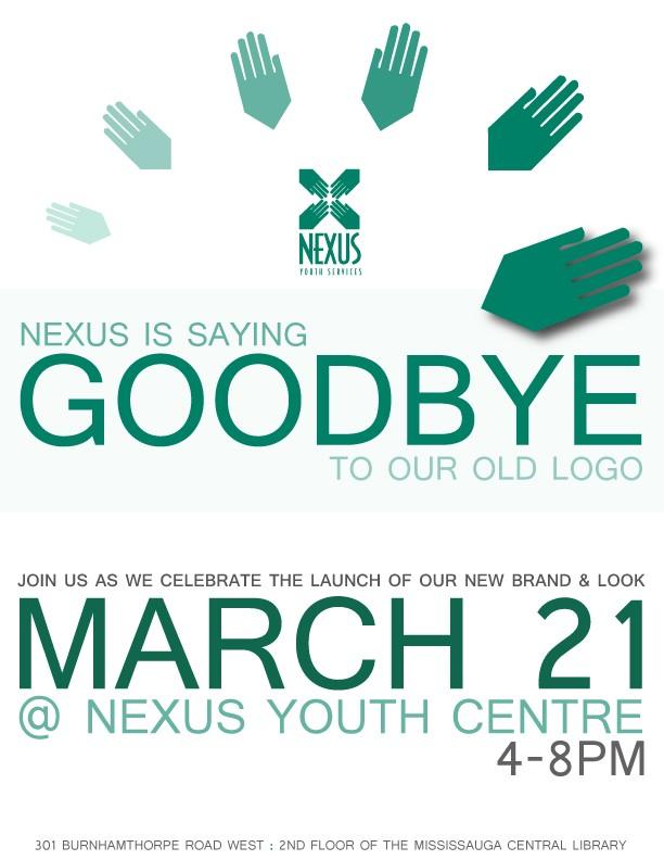 Launch party - Good bye logo!
