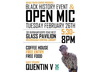 Open Mic Feb 2013
