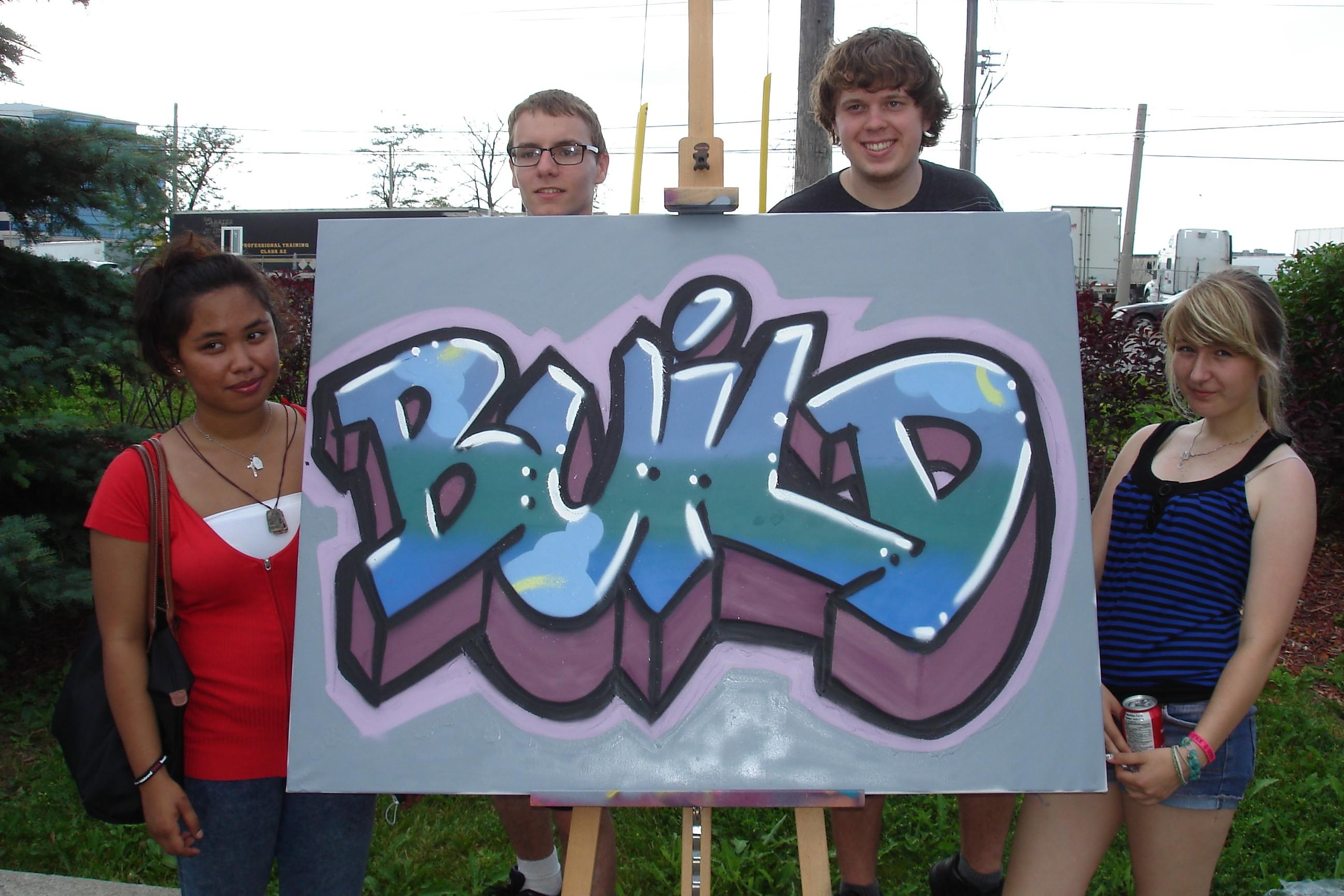 BUILD graffiti 2