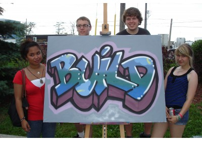 BUILD graffiti 2