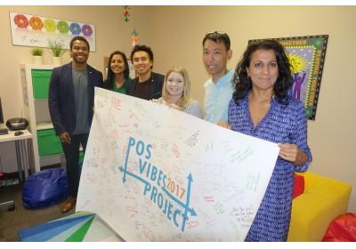 Jordan Skerrett, Nithya Mani & JJ Harland with NYS staff Stephanie Barbosa, John Choi & Andrea Peca