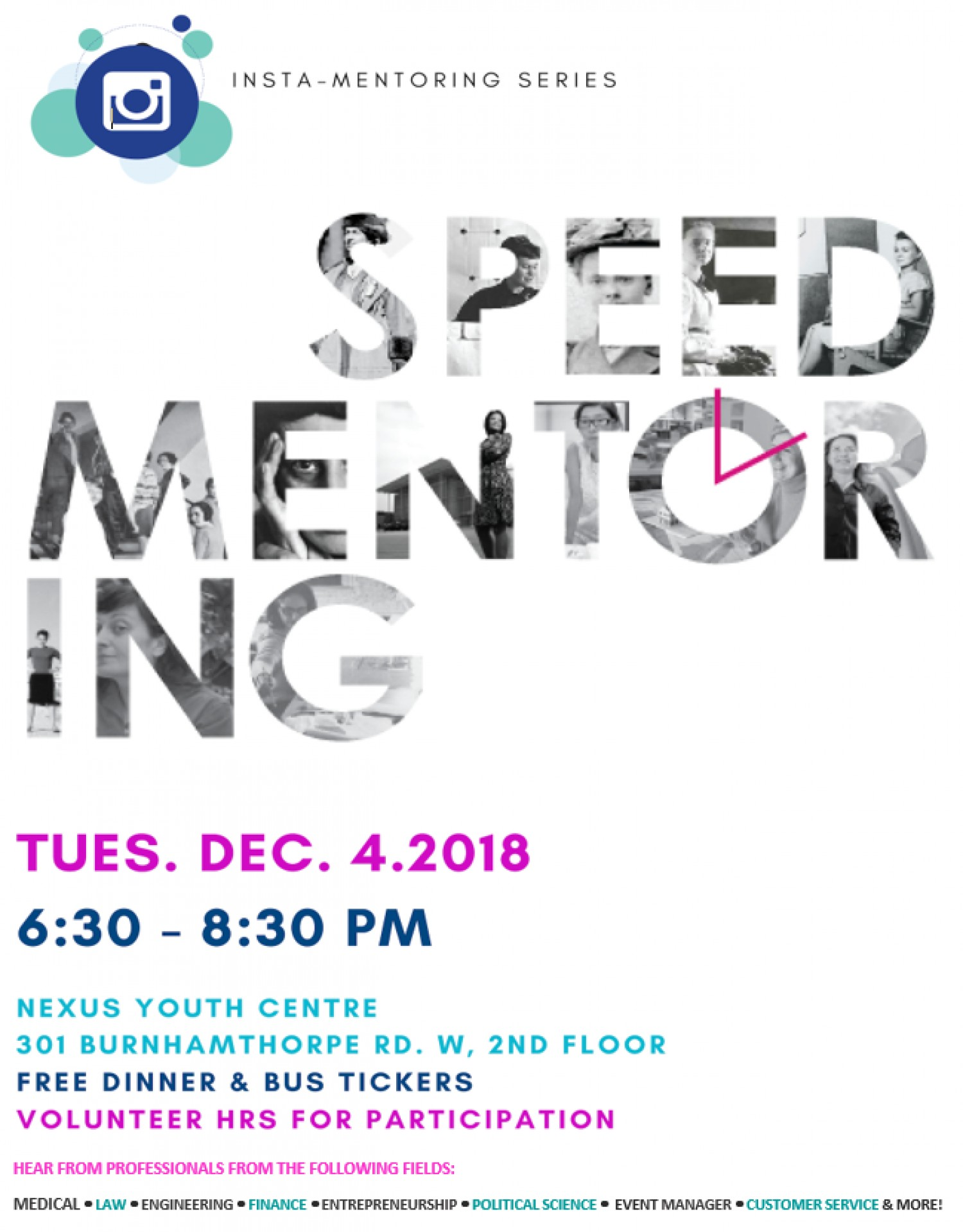 Speed Mentoring: College and Careers Night|News | Nexus Youth Services