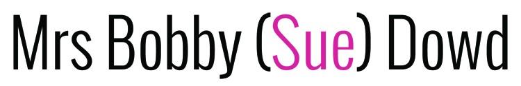 Mrs. Bobby (Sue) Dowd Logo