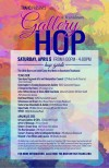 TRAHC Gallery Hop Poster April 2014