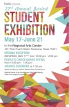 22nd Annual Juried Student Exhibition Poster