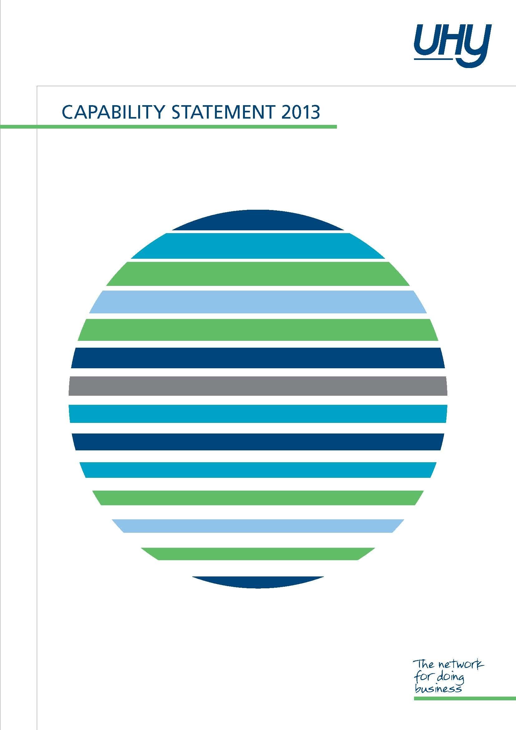 UHY Capability Statement 2013_p1