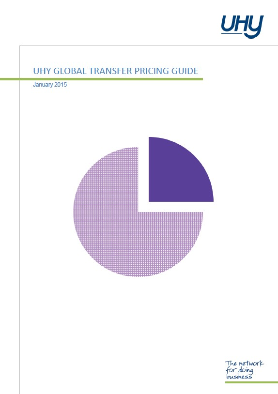 UHY 2015 Global Transfer Pricing Guide