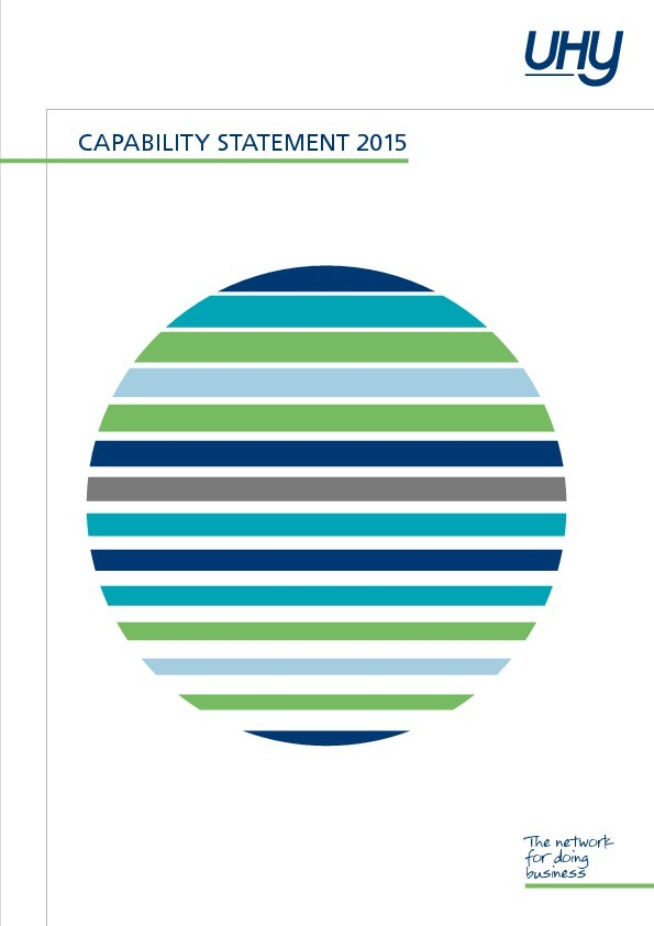 UHY Capability Statement 2015
