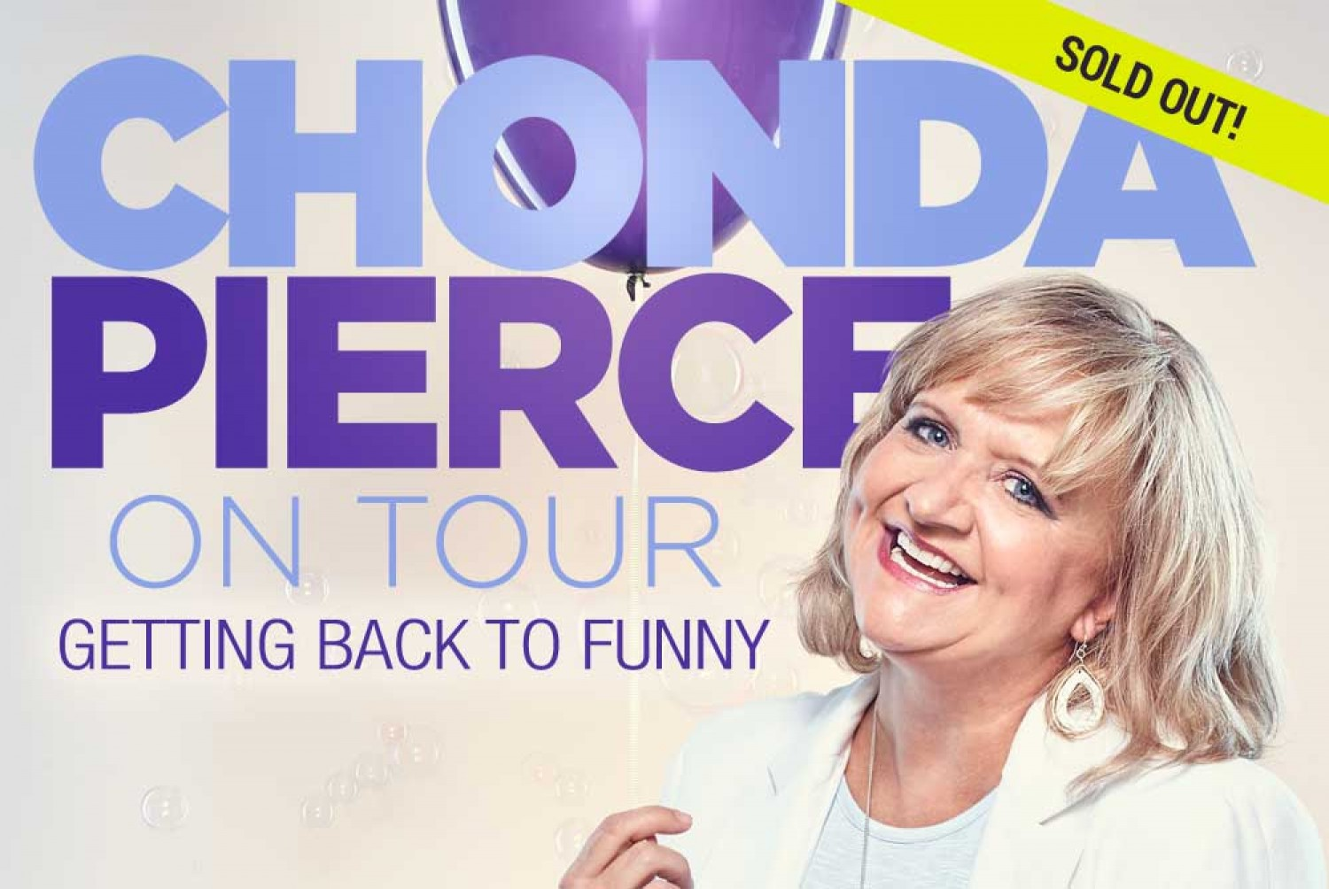 Chonda Pierce Tour Dates 2020 Chonda Pierce   Getting Back To Funny | March 2 | Special Event at