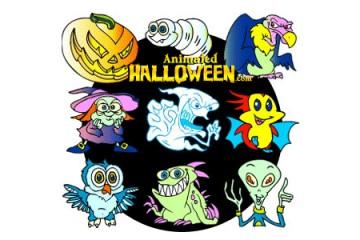 Animated Halloween - Smash O' Lantern